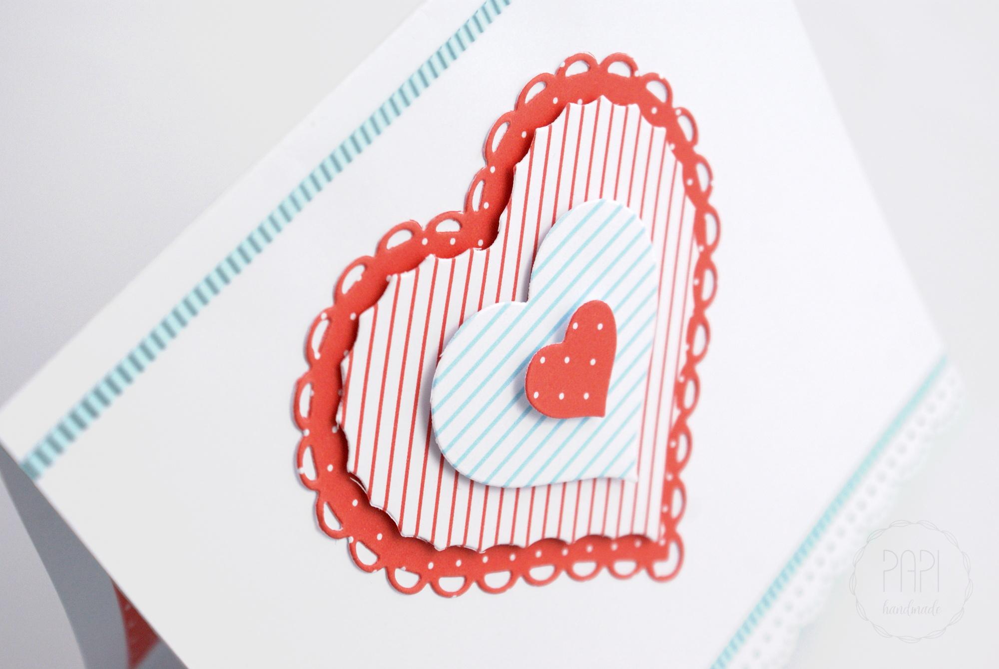 nowoczesny ślubny telegram serca