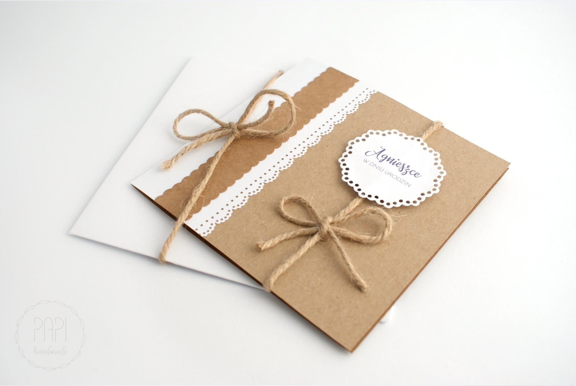 kartka urodzinowa eco