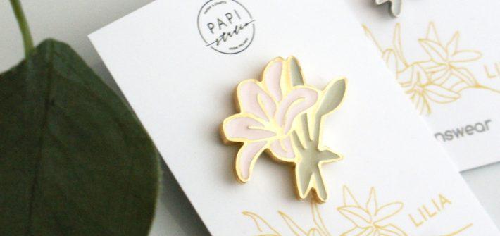 pinsy lilie pomysł na prezent