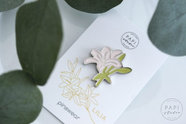 nowoczesna biżuteria dla niej pins kwiaty broszka