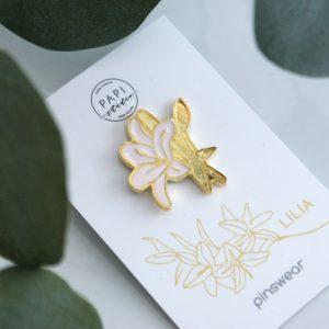pinsy kwiaty broszki biżuteria ręcznie robiona